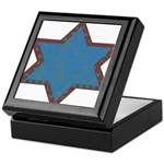 Jewish Star Keepsake Box