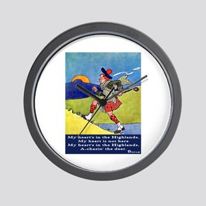 BURNS QUOTE Wall Clock