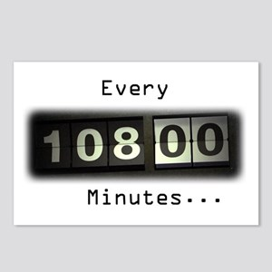 Every 108 Minutes Postcards (Package of 8)