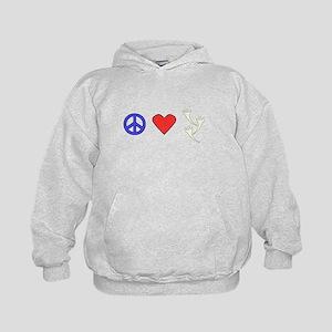 Peace Love Ghosts Hoodie