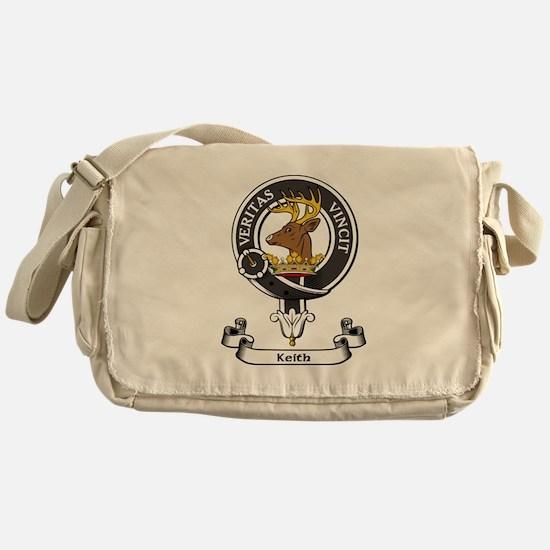 Badge - Keith Messenger Bag