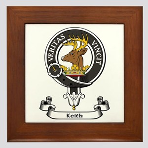 Badge - Keith Framed Tile