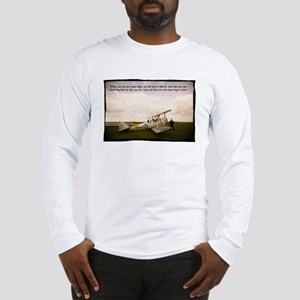 Tiger Moth Getting ready to fly Long Sleeve T-Shir