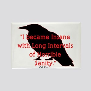 POE QUOTE Rectangle Magnet