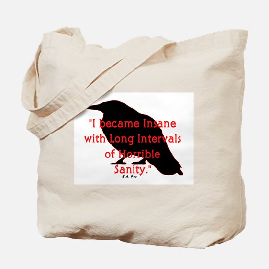 POE QUOTE Tote Bag