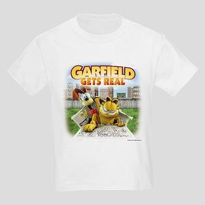 Garfield Gets Real Kids Light T-Shirt