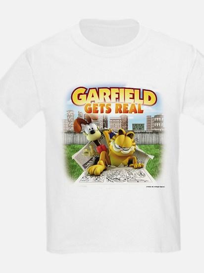 Garfield Gets Real T-Shirt