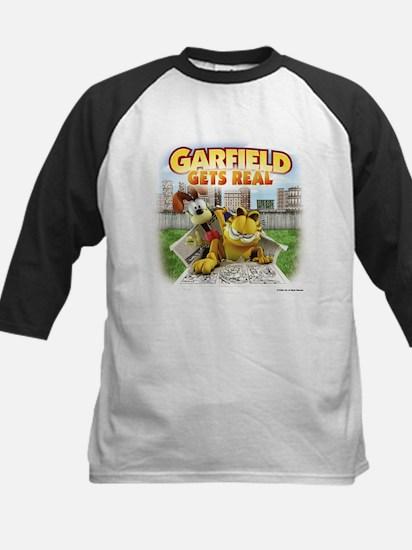 Garfield Gets Real Kids Baseball Jersey