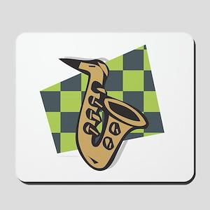 SAX - Saxophone Abstract Mousepad