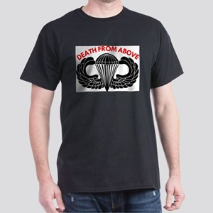 Airborne Death From Above Ash Grey T-Shirt