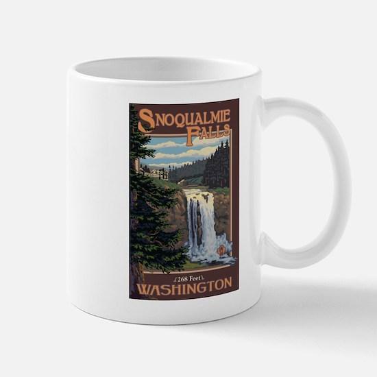 Snoqualmie Falls, Washington Mugs