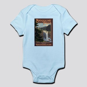 Snoqualmie Falls, Washington Body Suit