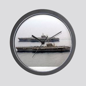 Kitty Hawk & Constellation Wall Clock Navy gift