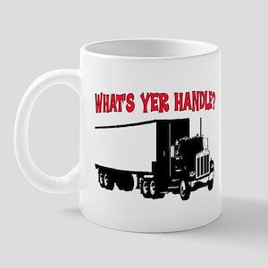 WHAT'S YER HANDLE?? Mug