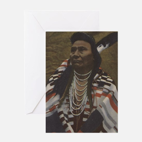 NW Indians - Chief Joseph of the Nez Perces Tribe