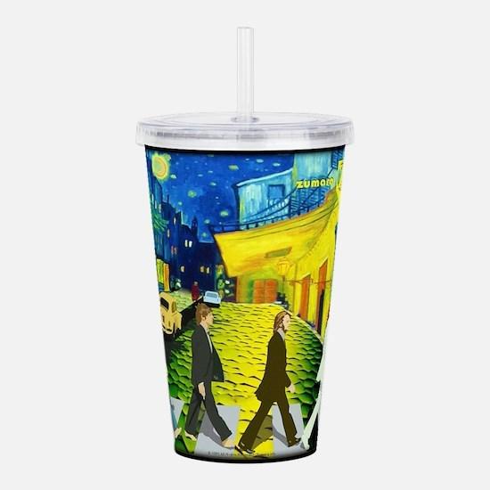 Fab4 Van Gogh Road Acrylic Double-wall Tumbler