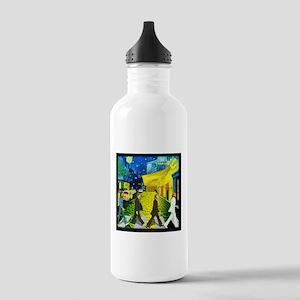 Fab4 Van Gogh Road Stainless Water Bottle 1.0L