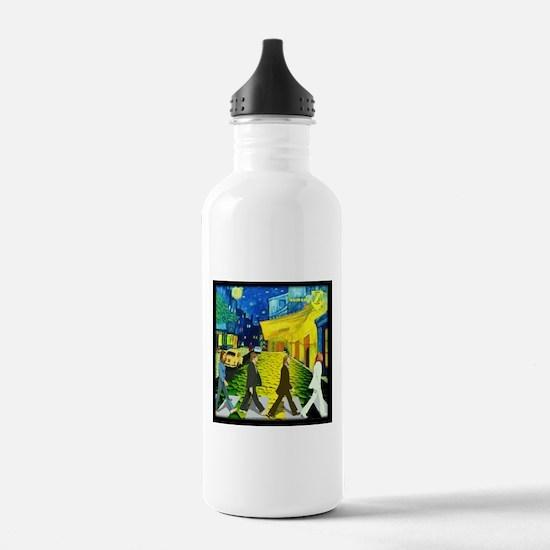 Fab4 Van Gogh Road Water Bottle