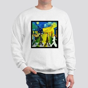 Fab4 Van Gogh Road Sweatshirt