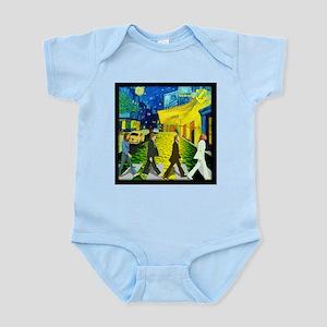 Fab4 Van Gogh Road Infant Bodysuit
