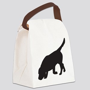 BEAGLE TRACKING Canvas Lunch Bag