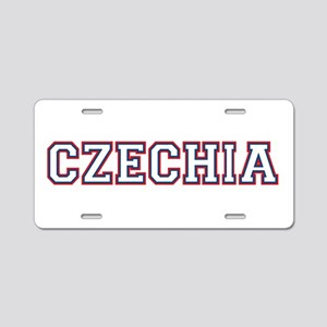 Czechia Aluminum License Plate