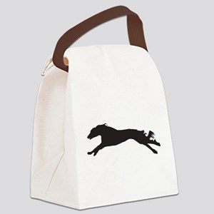 SALUKI COURSING Canvas Lunch Bag