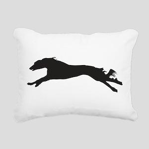 SALUKI COURSING Rectangular Canvas Pillow