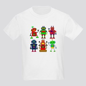 Robots in a row T-Shirt