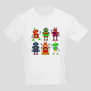 Robots in a row T-Shirt
