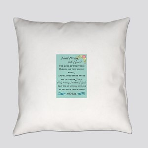 Hail Mary Everyday Pillow