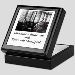Brahms and Muhlfeld Keepsake Box