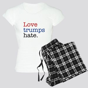 Love Trumps Hate Women's Light Pajamas