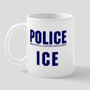 POLICE ICE Mug