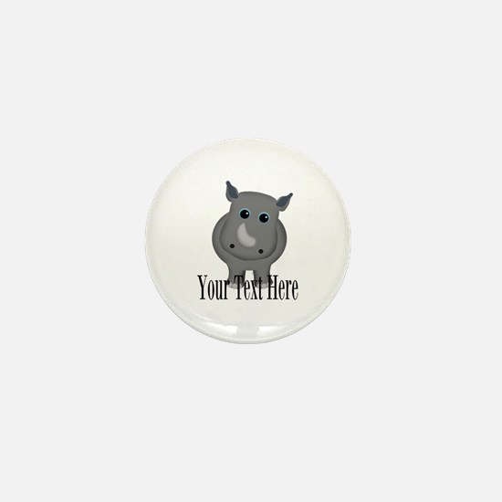 Rhino Baby Mini Button