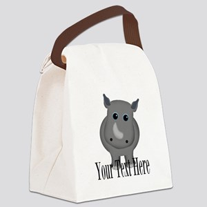 Rhino Baby Canvas Lunch Bag