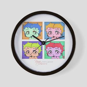 Betty Boop Pop Art Wall Clock