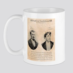 Death in Tombstone Mug