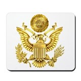 Presidential seal Mouse Pads