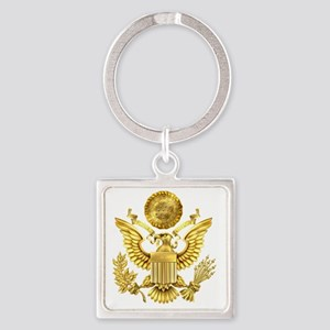 Presidential Seal, The White House Square Keychain