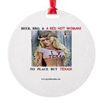 Welcome to Texas! #884 Round Ornament
