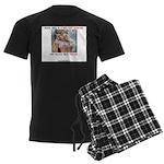 Welcome to Texas! #884 Men's Dark Pajamas