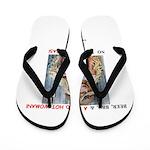 Welcome to Texas! #884 Flip Flops