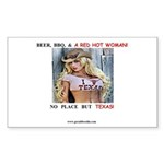 Welcome to Texas! #884 Sticker (Rectangle 50 pk)