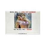 Welcome to Texas! #884 Rectangle Magnet (100 pack)