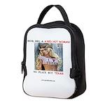 Welcome to Texas! #884 Neoprene Lunch Bag