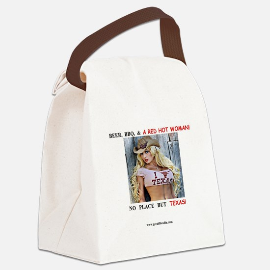Welcome to Texas! #884 Canvas Lunch Bag
