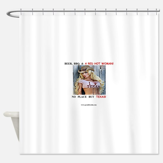 Welcome to Texas! #884 Shower Curtain