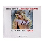 Welcome to Texas! #884 Throw Blanket