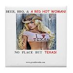 Welcome to Texas! #884 Tile Coaster